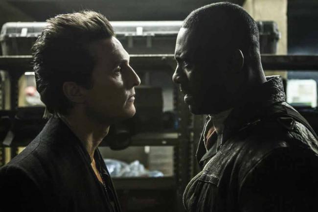 "Idris Elba & Matthew McConaughey in ""Der Dunkle Turm"""