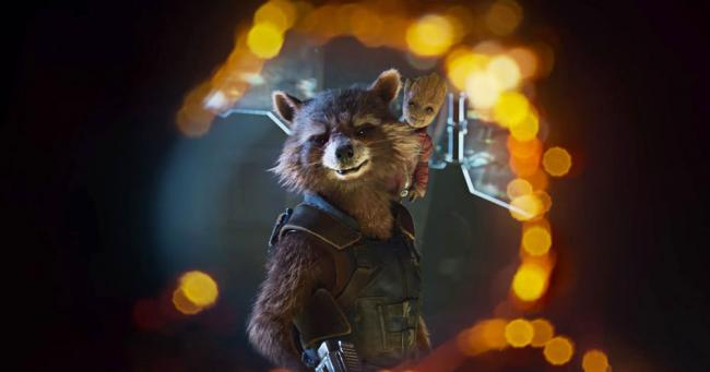 Guardians of the Galaxy 2 Baby Groot und Rocket