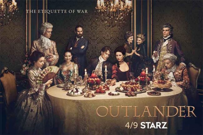 Outlander Staffel 2 Poster