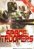 Space Troopers, Titelbild, P.E. Jones, Rezension,