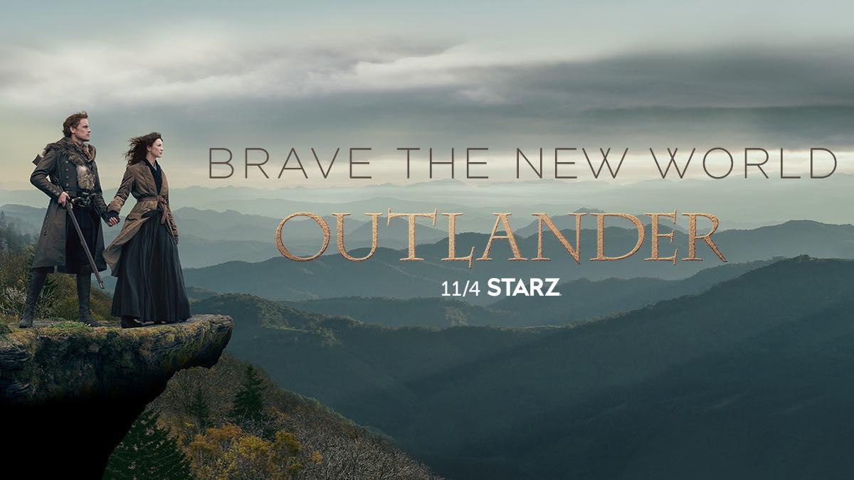 Outlander New World Starz