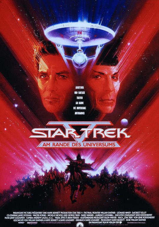 990458d6312 Star Trek V - Am Rande des Universums | Robots & Dragons