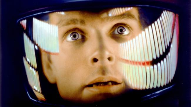Keir Dullea als Astronaut in 2001