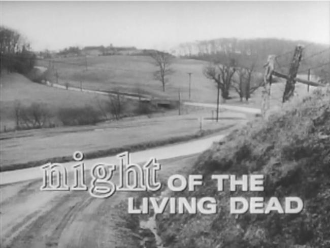 Night of the Living Dead Title