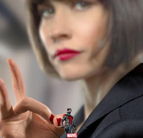 Ant-Man Poster mit Evangeline Lilly
