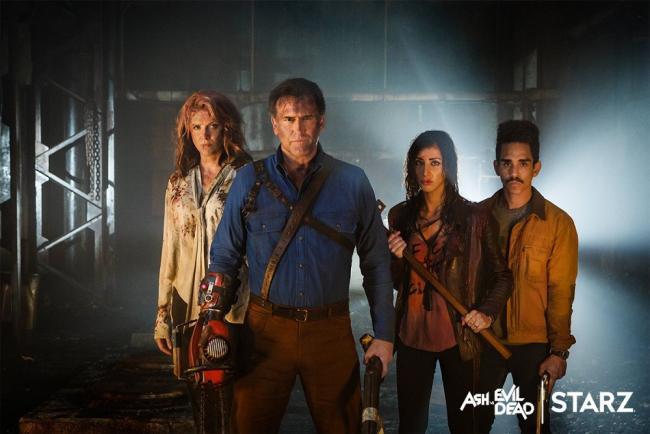 Ash vs. Evil Dead Staffel 2 Castfoto