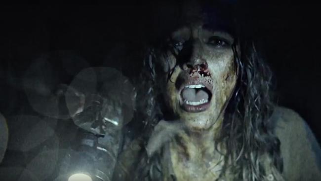 Szenenbild aus Blair Witch mit Callie Hernandez