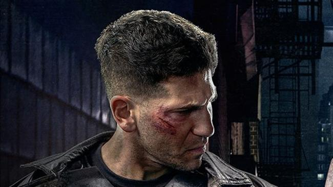 Jon Bernthal alias The Punisher