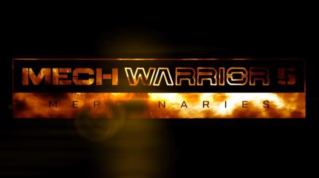 Mechwarrior 5 Trailer Still Logo