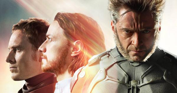 Magneto, Professor X, Wolverine