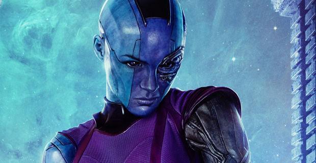 Karen Gillan ist Nebula in Guardians of the Galaxy