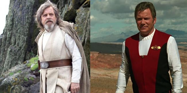 Hamill Shatner Star Trek Wars