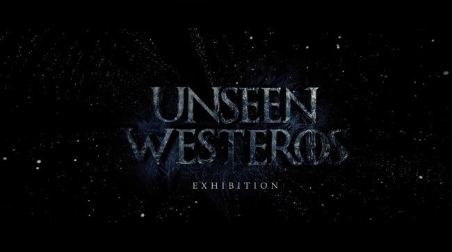 Unseen Westeros Exhibition Logo