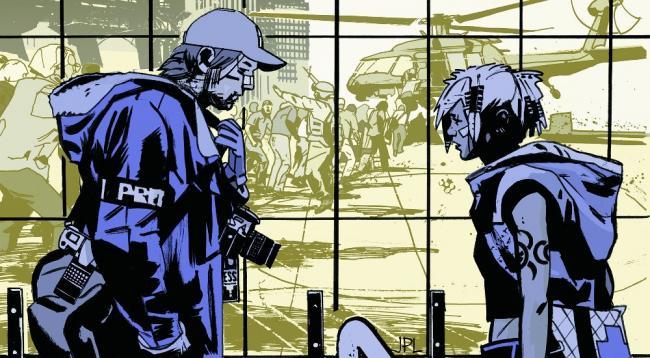 DMZ Comic