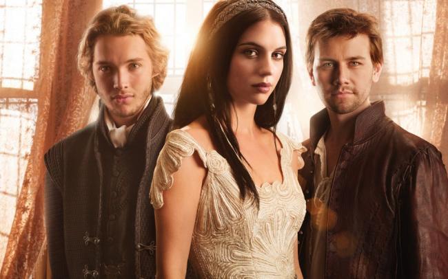 Francis, Mary und Sebastian - drei Hauptcharaktere in Reign