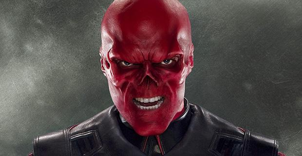 Hugo Weaving als Red Skull in Captain America: The First Avenger