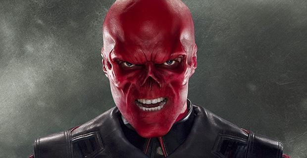Hugo Weaving als Red Skull in Captain America: The First Avenger