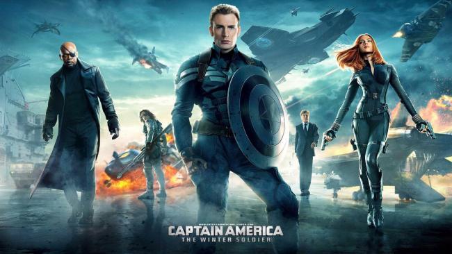 Poster zu Captain America: The Winter Soldier