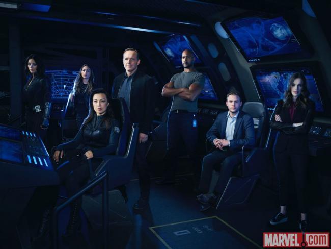 Agents of S.H.I.E.L.D. - Cast Staffel 4