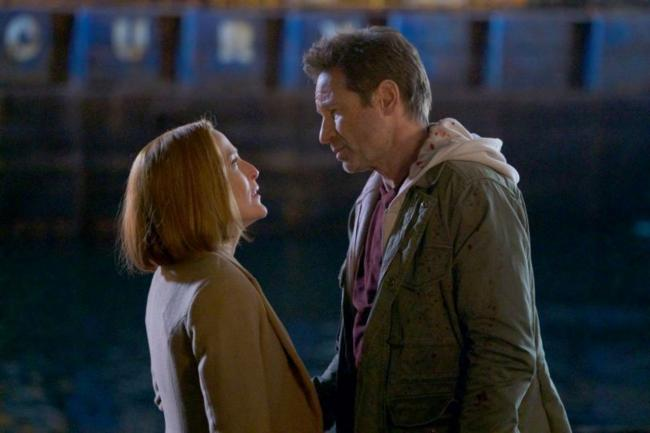 """Mulder & Scully im Staffelfinale 11 """"Der Kampf IV"""""""