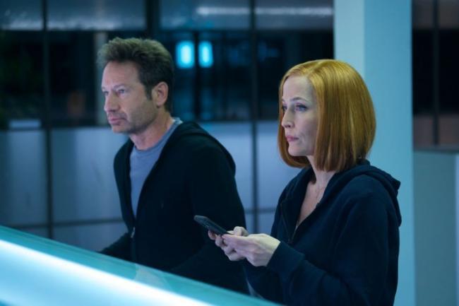 Mulder und Scully in Rm9sbG93ZXJz