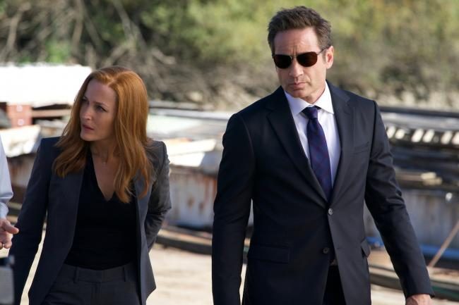 Mulder und Scully in Ghouli