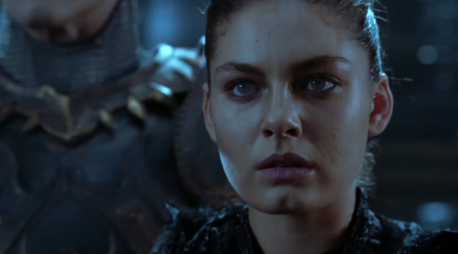 Davalos in Chronicles of Riddick