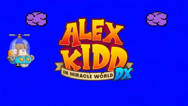 Alex Kidd in Miracle World DX Title