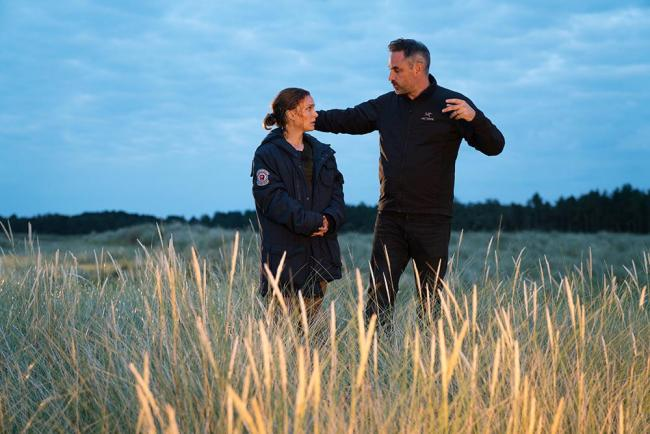 Alex Garland und Natalie Portman in Annihilation