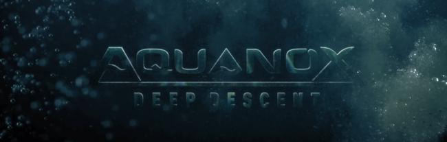 Aquanox Deep Descent Logo