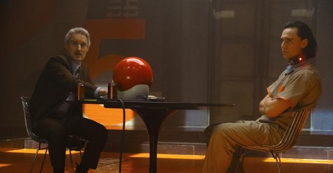 Owen Wilson & Tom Hiddleston in Loki