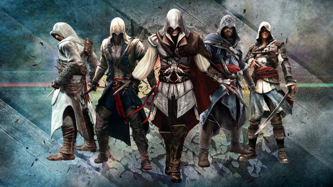 Assassin's Creed Ubisoft Keyart