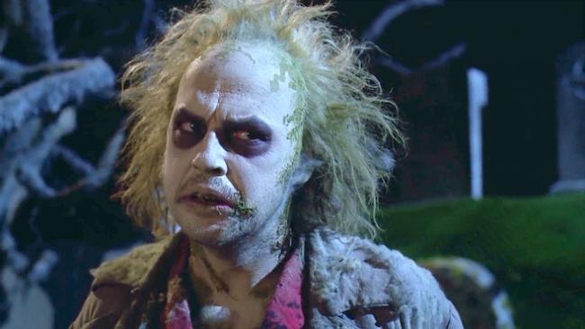 Michael Keaton ist Beetlejuice