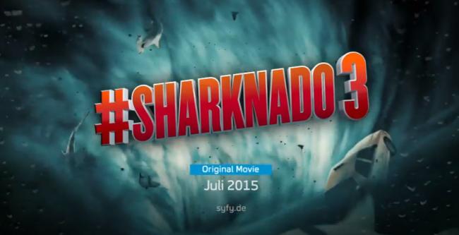 Sharknado 3 Logo
