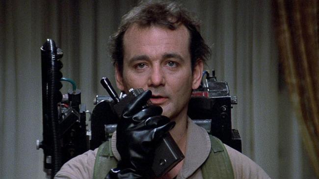 Bill Murray in Ghostbusters