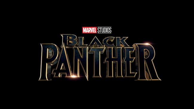 Schriftzug-Logo zu Marvels Black Panther