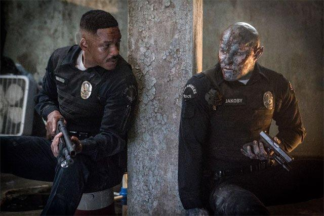 Will Smith und Joel Edgerton in Bright