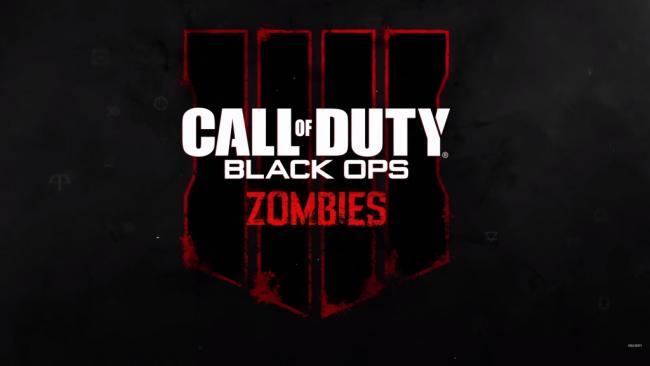 Call of Duty Black Ops 4 Zombies Logo