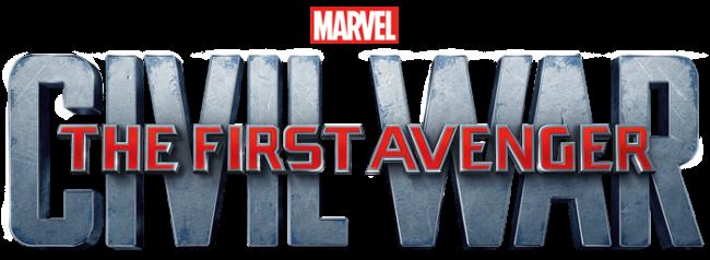 The First Avenger: Civil War Logo