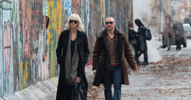 Charlize Theron und James McAvoy in Atomic Blonde
