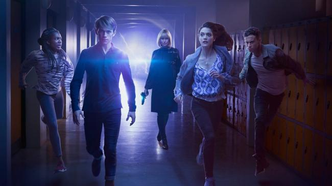 Die Hauptcharaktere der Doctor Who Spin-Off Serie Class