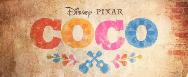 Schriftlogo zum Film Coco von Disney Pixar