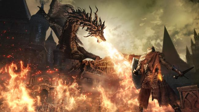 Dark Souls 3 Dragon Fire