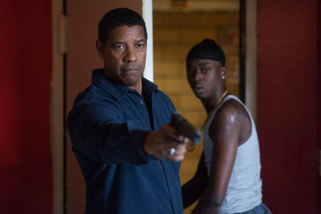 Denzel Washington und Ashton Sanders