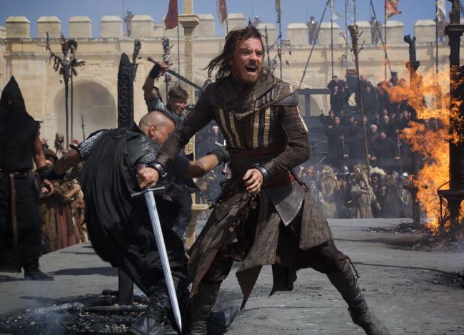 Assassin's Creed Movie Scene