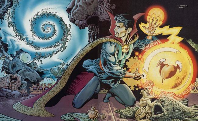 Doctor Strange in den Comics