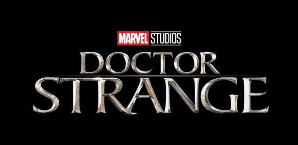 Schriftzug-Logo zu Marvels Doctor Strange