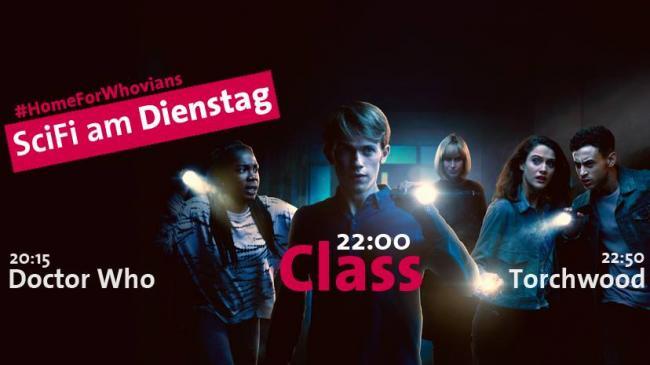 Doctor Who, Class und Torchwood bei ARD One und Funk