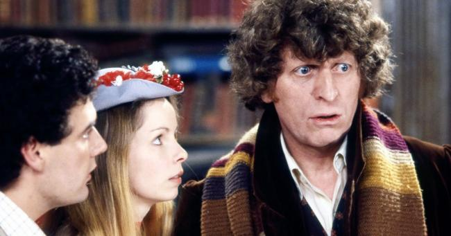 Doctor Who Tom Baker und Lalla Ward