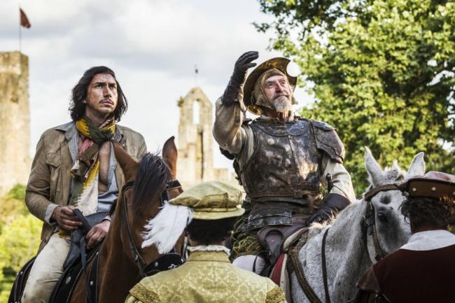 Adam Driver Jonathan Price Don Quixote Still